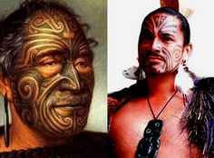 aboriginal face tattoos - Google Search