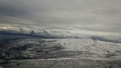 View from Plane over Narvik