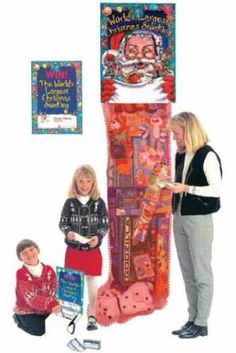 "Giant Christmas Stockings - Business Promotions / Fundraiser Giveaways - Draw a crowd, increase in-store traffic, build incentive for fundraisers, generate fun & holiday spirit! Each promotional toy filled Christmas stocking is packed with the hottest licensed toys (featuring selections from the list shown on website) and comes with: Poster, Entry form blanks, Raffle box, and ""Best Ideas"" Booklet!  Special offer good until 12/15/14.  www.holiday-business-gifts.com/other-gifts-2/"