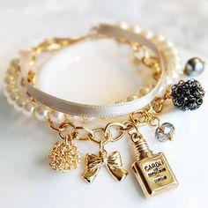 Charm Bracelet, I don't normally like charm bracelets but I love this one