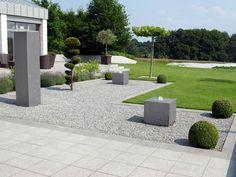 Gärten geradlinig gestaltet