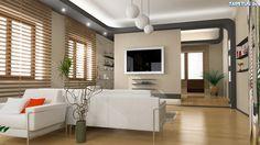 pomysł na oświetlenie i półki