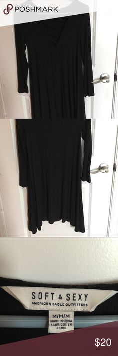 Ae dress! Never worn before! Perfect condition. Non-smoking home. Super cute flowy dress perfect for spring. I am 5'5 and it goes to a little below the middle of my thighs! American Eagle Outfitters Dresses