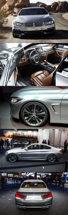 BMW 4-Series Coupe Concept . Holly Smokes , I still cant beleave I came home with this on 1/1/15 , 435i xdrive Sport . Alot of folks say things about this car but they didnt come with it ! This car is NOT a 2 door 3 ser. i'ts all i'ts own . I love this car !