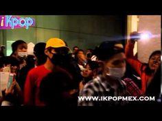 BTS llegada al Aeropuerto de la Ciudad de México (27-07-2015)