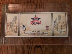 Excited to share the latest addition to my #etsy shop: All Star Game:1985 American League vs. National League, Twins Stadium Unused Ticket L@@K!! http://etsy.me/2owNGtc #vintage #collectibles #sportsmemoribilia #1985americanleague #1985nationalleague #twins1985league #ticketstubs #championshipgames #tticket #etageinc
