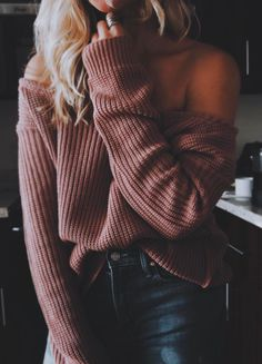 Dusky rose jumper | streetstyle | winter look | winter style | winter outfit inspiration