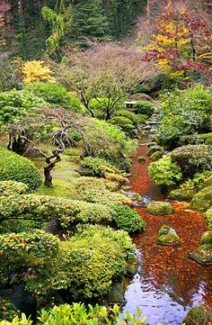 Portland Japanese Garden. . Follow - pinterest.com/ImStyle and LIVE with Style - SheWithStyle . com
