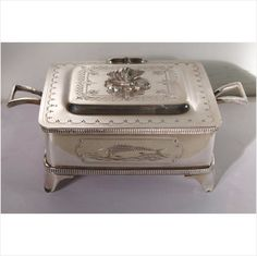 Fine Quality Walker & Hall Silver Plated Sardine Box Listing in the Silver Plate,Silver,Antiques Category on eBid United Kingdom