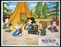 RACE FOR YOUR LIFE CHARLIE BROWN 1977 Lobby Card 7