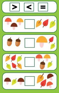 Kindergarten Reading Activities, Preschool Learning Activities, Preschool Activities, Teaching Kids, Kindergarten Math Worksheets, Fun Worksheets, Math Resources, Learning Numbers, Math For Kids