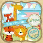 Scrapbooking Kit: Zoo Friends -- free kits