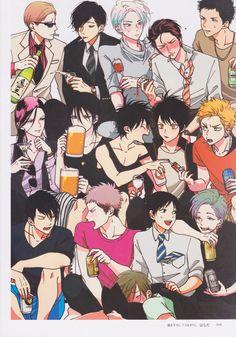 Me and Yaoi Color Recipe Manga, Manga Boy, Manga Anime, Angel Manga, Shonen Ai, Character Art, Character Design, Manga Artist, Manga Illustration