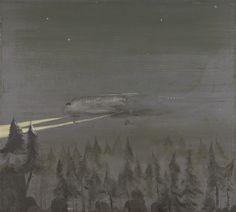 Norbert Schwontkowski Hohe Tannen II Oil on canvas 70 3/4 x 78 3/4 in. (180 x 200 cm)