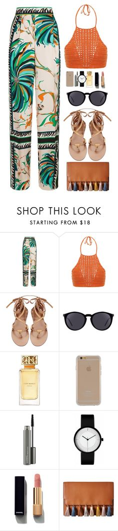"""Boho Chic"" by lividramalyfe ❤ liked on Polyvore featuring Emilio Pucci, Spiritual Hippie, Yves Saint Laurent, Tory Burch, Agent 18, MAC Cosmetics, Chanel and Rebecca Minkoff"