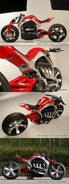 Triumph Rocket III Concept Motorcycle  - Roger Allmond Did you know that Pinterest drives more website traffic than Google+, LinkedIn, Reddit, and YouTube... COMBINED!! Get Your Pinterest bot to put your pinning on auto-pilot http://ibourl.com/1nhp