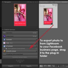 Exporting Photos from Lightroom to a Facebook Business Page