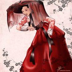 Hanbok by Letty09 on DeviantArt
