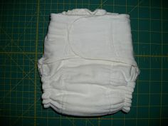 Sew fitted diapers like SBish and Kissaluvs in just a few simple steps from prefolds.