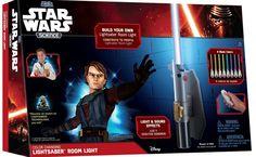 Uncle Milton - Star Wars Science - Multicolor Lightsaber Room Light: Toys & Games