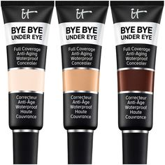 13713a04a096 It Cosmetics Bye Bye Under Eye Full Coverage Anti-Aging Concealer is  Available in 48 Shades Today