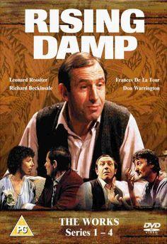 Popular UK comedy show British Sitcoms, British Comedy, Comedy Tv, Comedy Show, Comedy Quotes, V Drama, Great One Liners, Rising Damp, Nostalgia