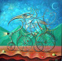 Crazy Cyclist III by FrodoK