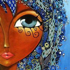 Symbolic Art, African Art Paintings, Indian Folk Art, Indigenous Art, Arte Pop, Whimsical Art, Urban Art, Canvas Art Prints, Unique Art
