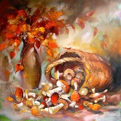 Skripchenko Liudmila. flashbacks about an autumn