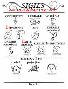 MY Opalraines Production..compiled 91 Sigils.Aplhabetically for quick acess in BOS. page 2 of 6