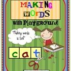 I am excited to post my...Making Words/Mystery Word…Playground!  With this free download you will receive whole group large letter tickets fo...