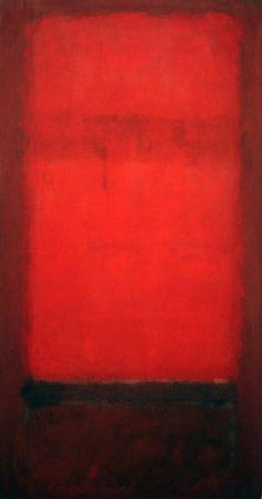 lonequixote:  Light Red over Dark Red by Mark Rothko(via: @lonequixote)