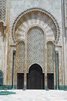 Mosque Hassan II, Casablanca, via Flickr.