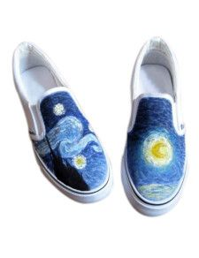 "I want to paint this on a pair of vans... Then go running an hear people say ""look at those vans gogh"""