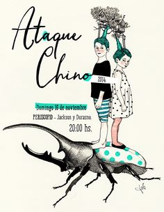 Ataque Chino on Behance