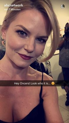 Jennifer Morrison On the #ABCupfront red carpet! (SnapChat) - 18th May 2016