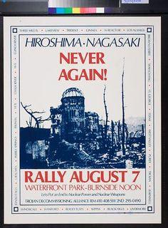 Hiroshima - Nagasaki Never Again!: Rally August 7 (1977)