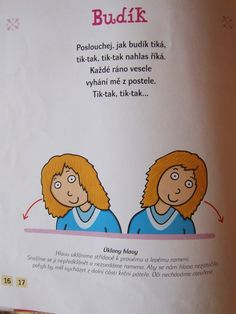 Bewegingskaart voor kleuters Yoga For Kids, Exercise For Kids, Diy And Crafts, Crafts For Kids, Healthy Kids, Preschool, Projects To Try, Clip Art, Classroom