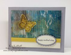Backyard Basics Butterfly Card with How To Video, Stampin' Up!, Stamping to Share, Kay Kalthoff, Soho Subway Designer Series Paper, Teeny Tiny Wishes