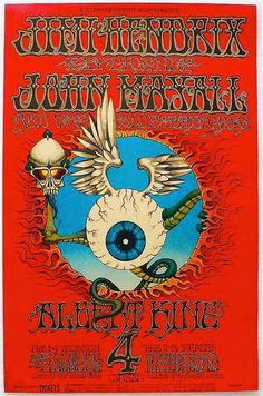 The most sought poster after of the psychedelic era