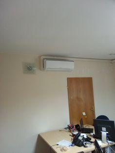 Montaż systemu klimatyzacji w biurze - Warszawa
