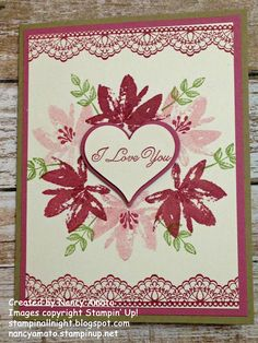 Stampin' All Night: RemARKably Creative Blog Tour: Sealed With Love