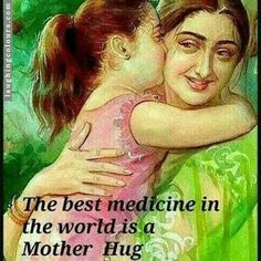 the best medicine in the world is a mother hug,meme Love My Parents Quotes, Mom And Dad Quotes, I Love My Parents, Mother Daughter Quotes, Father Quotes, Mothers Love, Family Quotes, Girl Quotes, Father Daughter