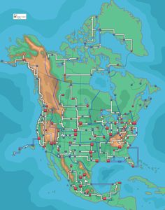 The Map of North America if Pokemon Were Real! - Imgur