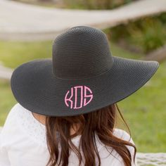 Oh La La!  Yes we have it stock.  Floppy Hats  Check us out for all your monograms apparel & gifts.  http://www.justmonograms.com/products/floppy-hats?utm_campaign=social_autopilot&utm_source=pin&utm_medium=pin