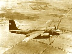 Chilean Air Force B-26 Invader.