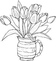 spring coloring pages - Google Search