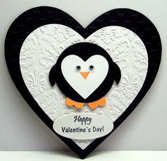 Jenfa+Cards:+Penguin+Valentine