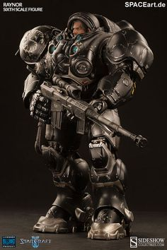 StarCraft: Raynor, Deluxe-Figur (voll beweglich) ... https://spaceart.de/produkte/stc003.php