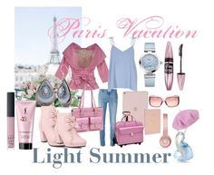 Paris Vacation by prettyyourworld on Polyvore featuring River Island, Xs Couture, Givenchy, McKleinUSA, Royce Leather, OMEGA, Ice, Silver Forest, Gucci and NARS Cosmetics